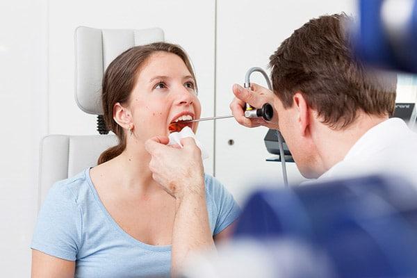 Kehlkopfvorsorge